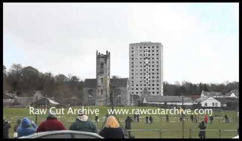 Awesome Demolition of Fife Tower Block