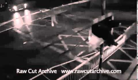 CCTV Shocking Near Miss on Train Track