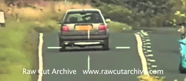 Driver Caught on Police Camera Driving With No Hands