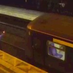 Drunk Man Jumps in Front of Train