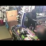 Knife wielding robbers attack shopkeeper