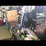 Knife wielding robbers attack shopkeeper