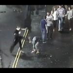 Yob kicks man in the face