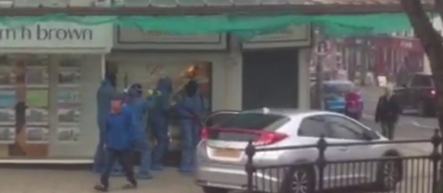 Smash & Grab Jewellers Raid