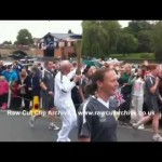 A 2012 OLYMPIC TORCH RELAY STREAKER CAUGHT ON CAMERA, Henley-on-Thames