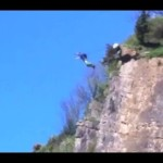 Awesome Base Jumping Avon Gorge Bristol