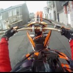 CAUGHT ON CAMERA: Motorcyclist Pulling Wheelies is Caught by Police with Selfie