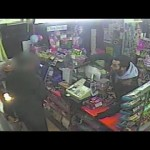 CAUGHT ON CCTV: Gun Wielding Robber Holds Up Shop