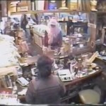 Caught on CCTV – Santa Claus steals from a store
