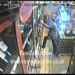 Caught on CCTV! Thief at Whiskey Shop