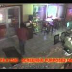 Dumb thief walks into glass – FAIL