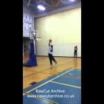 Dunk attempt fail EPIC FAIL!!!!