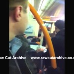 GATWICK EXPRESS FIGHT CAUGHT ON CAMERA