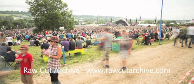 Glastonbury Pyramid Stage Time Lapse
