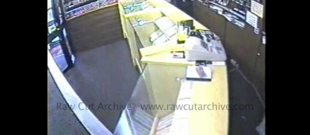 Jewellery Axe Attack on Window