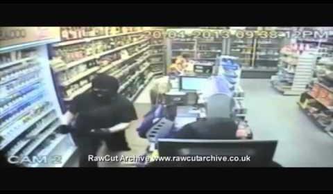Knife Robbery Finger