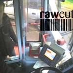 Passenger grabs moving bus steering wheel /15B-PD101-010