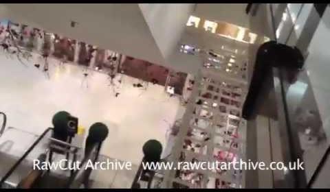 Selfridges 'Smash And Grab' Caught on Camera