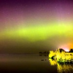 Northern Lights from Northern Ireland
