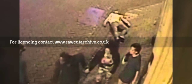 Brutal knockout outside nightclub caught on CCTV / 15C-PD101-050
