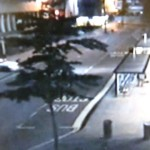 Heist FAIL! Bungling thieves smash into travel agency