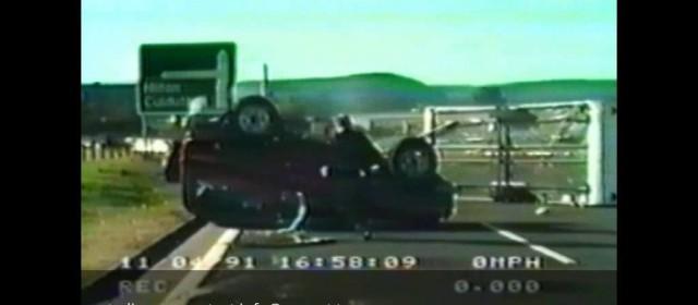 Caravan Crash on Motorway – Inverness