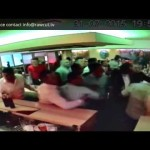 CCTV – Mass Brawl in Curry Shop
