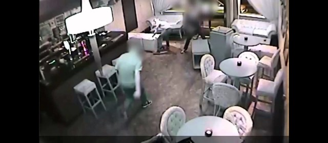 CCTV – Stag Party Smashes Up Strip Club