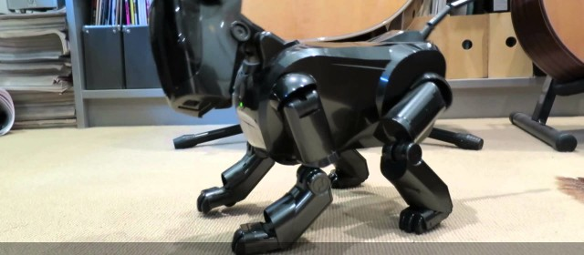 SONY AIBO Robot Pet At Home