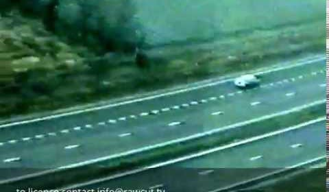 Wrong Way Car on M20 Motorway