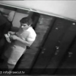 CAUGHT ON CAMERA! Busboy steals money from locker