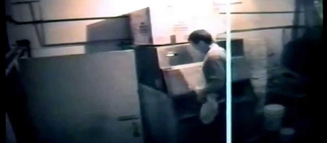 GROSS! Worker wees in ice machine