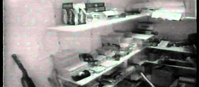 Office Thief! Woman steals supplies from supply closet.
