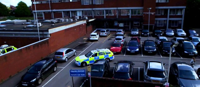 Drone GV – Boston Police Station UK