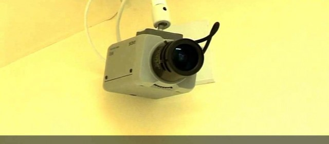 B-Roll – CCTV Camera (to blur)
