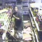 CCTV – Stupid Thief Breaks Into Shop Through Ceiling