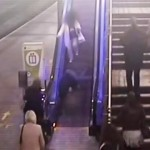 Shocking CCTV footage of drunks in train stations