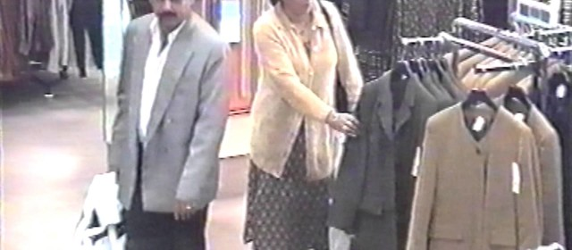 CCTV – C&A Shoplifting couple