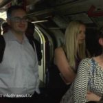 Passangers Evacuated from London Underground Train